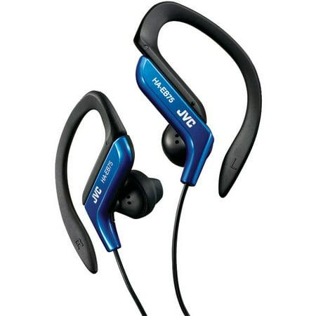 JVC(R) HAEB75A Ear-Clip Earbuds (Blue) - image 1 de 1