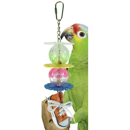 1355 Kick Ball Sneaker Bird Toy Parrot Cage Toys Cages African Grey Amazon (Amazon Parrot Pet)