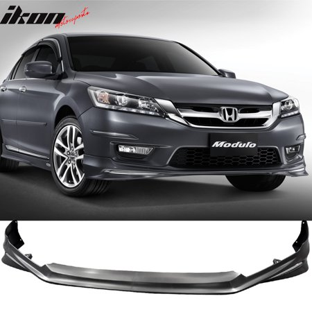 Fits 13-15 Honda Accord 4Dr Sedan MD Style Front Bumper Lip Spoiler - PP - Honda Accord Front Spoiler