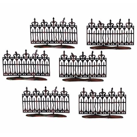 Department 56 Spooky Wrought Iron Fence Halloween Village Accessory Set 56.52982](Dept 56 Halloween Spooky Tree)