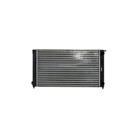 Radiator - Pacific Best Inc. Fit/For 837 82-93 Volkswagen Rabbit Cabriolet 81-92 VW Jetta/Golf 83-87 Scirocco Plastic Tank Aluminum Core