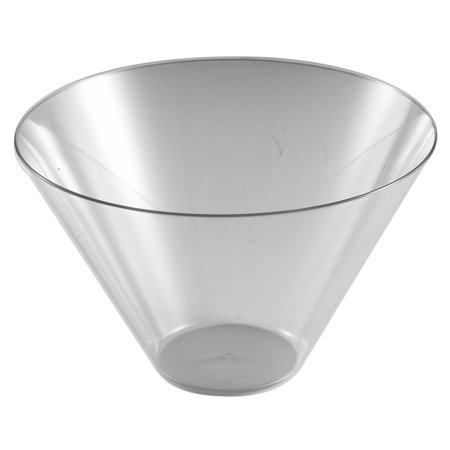 11 x 16 Inch Clear Plastic Rectangular Serving Tray/Case of 25 - Clear Plastic Serving Trays