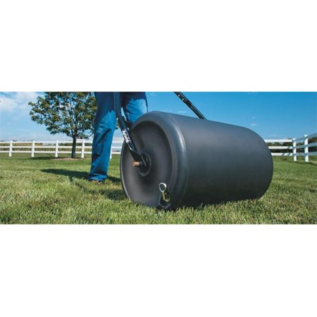 200 lbs Poly Push Tow Lawn Roller, 18 x 24 in.