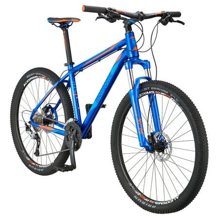 "Mongoose Tyax Comp 27.5"" Men's Hardtail Mountain Bike, Blue, Large"