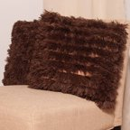 Very Soft And Comfy Plush Long Faux Fur 18 Quot X 18 Quot Throw