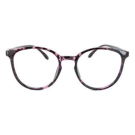 016f798277d Eye Buy Express Prescription Glasses Mens Womens Violet Tortoiseshell Style  Lightweight Retro Reading Glasses Anti Glare grade - Walmart.com