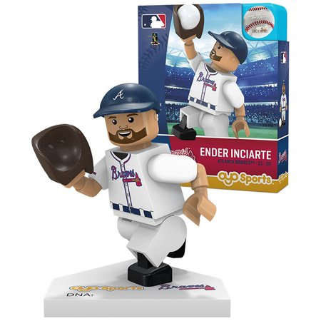 Atlanta Braves Sports Plate - Ender Inciarte Atlanta Braves OYO Sports Player MLB Minifigure - No Size