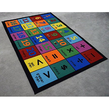 Area Rug Kids Room Play And Learn Carpet Learning Design Play Time