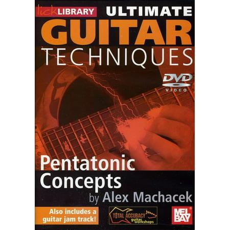 Ultimate Guitar Techniques  Pentatonic Concepts
