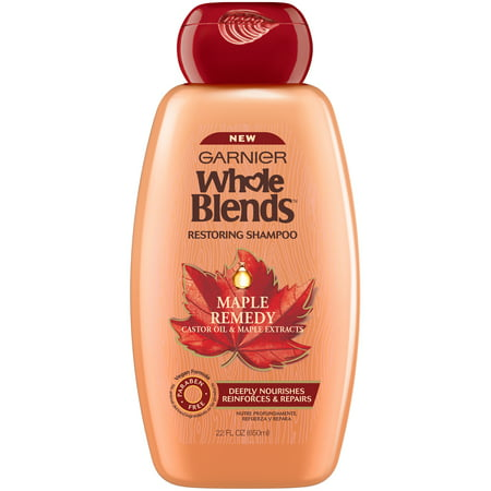 Garnier Whole Blends Maple Remedy Restoring Shampoo 22 fl. oz. Bottle ()