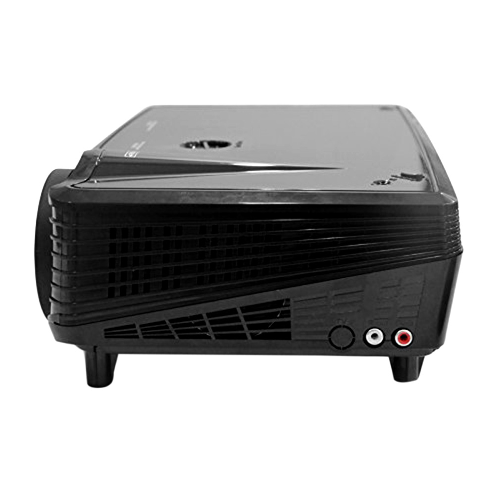 Portable Compact HD 1080p 2000 Lumen Mini Projector Home Cinema Theater Projector Multimedia on Hot Sale
