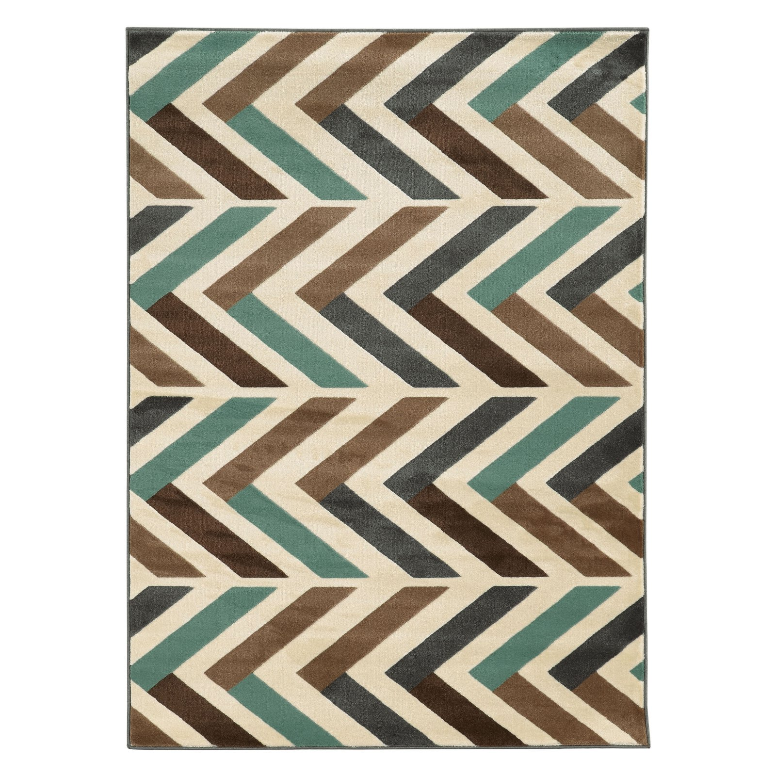 Linon Roma Herringbone Indoor Area Rug