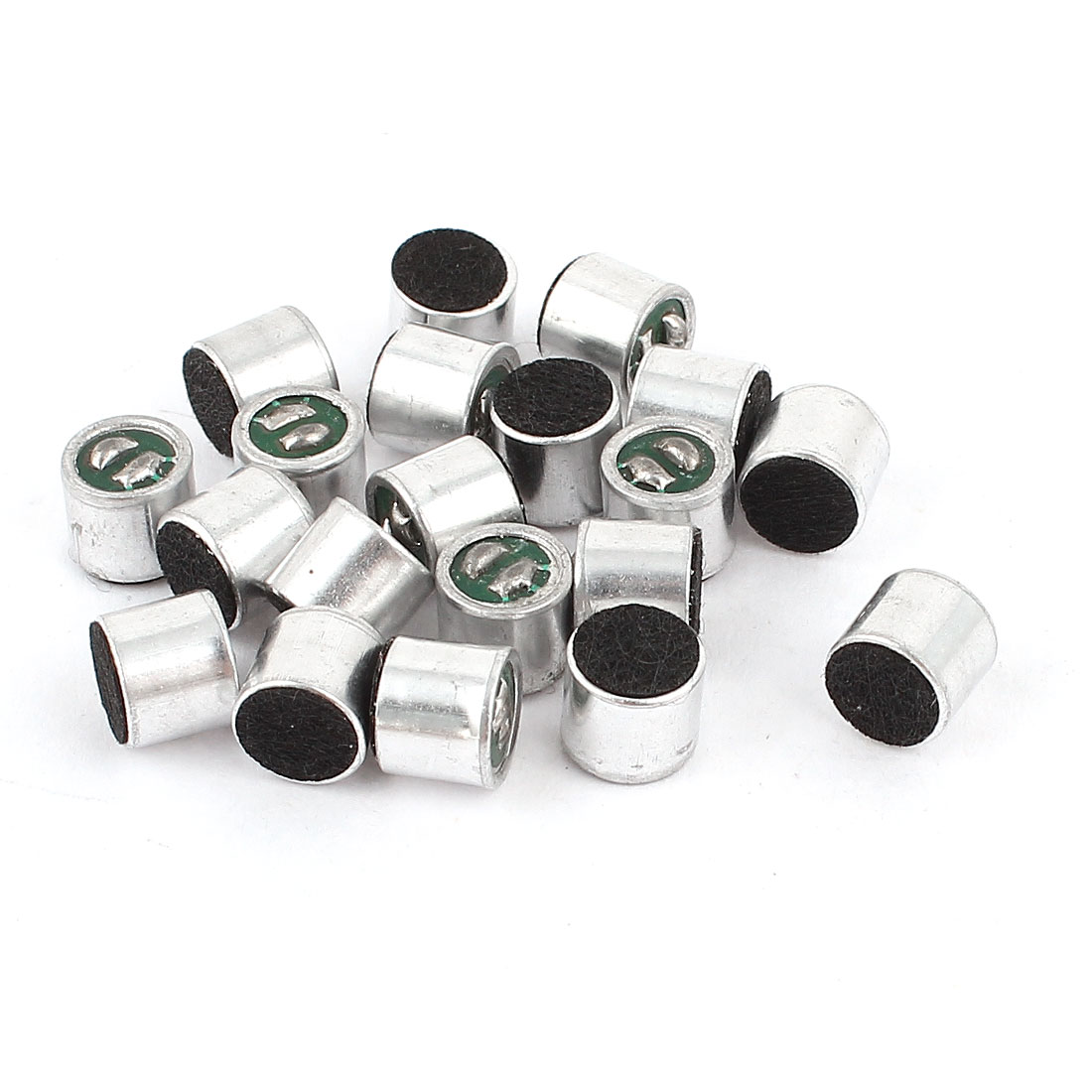Unique Bargains 20 Pieces Cylinder Shaped SMD Electret Condenser Microphone MIC Pick-up 6mmx5mm - image 1 of 1
