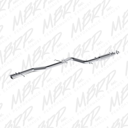MBRP 05.5-06 VW 1.9L TDI Jetta 3in T409 Cat Back Exhaust