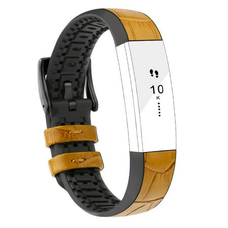 Fitbit Alta Bands Leather Alta HR Bands Adjustable Replacement Sport Strap Band for Fitbit Alta HR Accessory