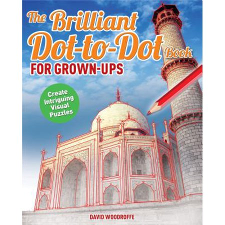 The Brilliant Dot-To-Dot Book for Grown Ups (Paperback)