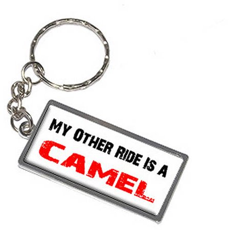 My Other Ride Vehicle Car Is A Camel Keychain Key Chain Ring