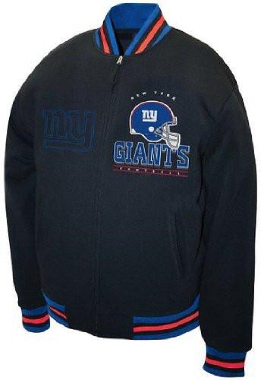 New York Giants Hard Knock Full Zip Fleece Jacket by G-III Sports