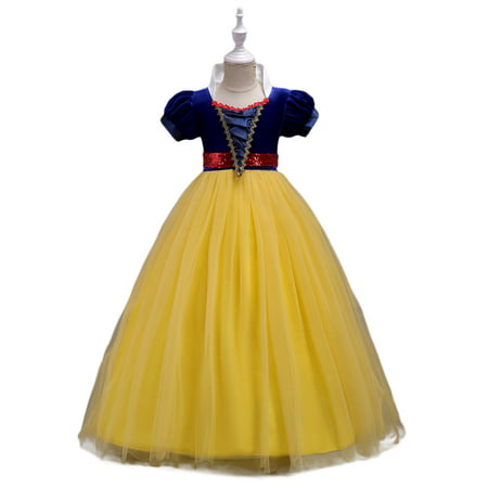 Girls' Princess Snow White Costume Fancy Dresses up for Halloween Party - Nemo Fancy Dress Costume