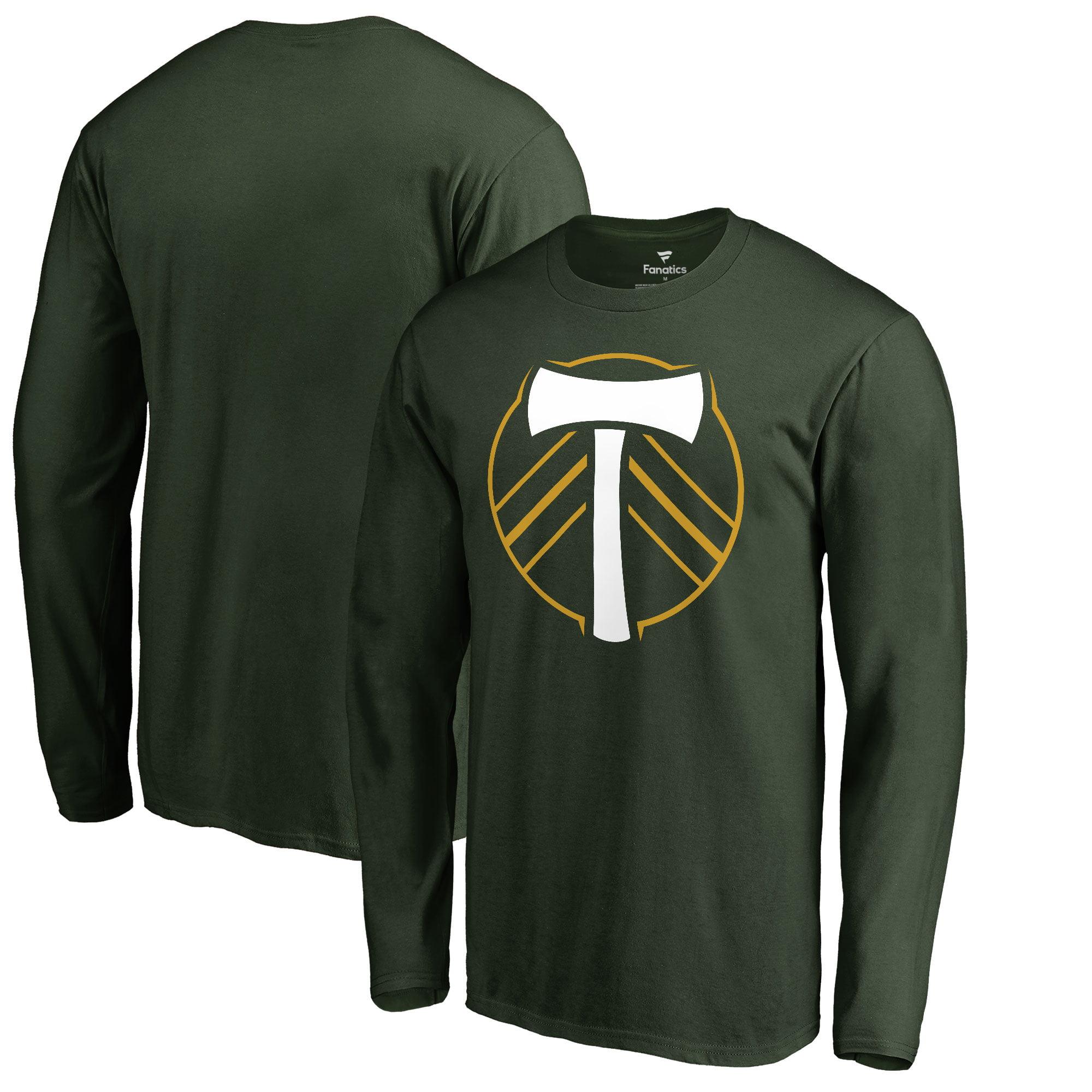 Portland Timbers Fanatics Branded Primary Logo Long Sleeve T-Shirt - Green
