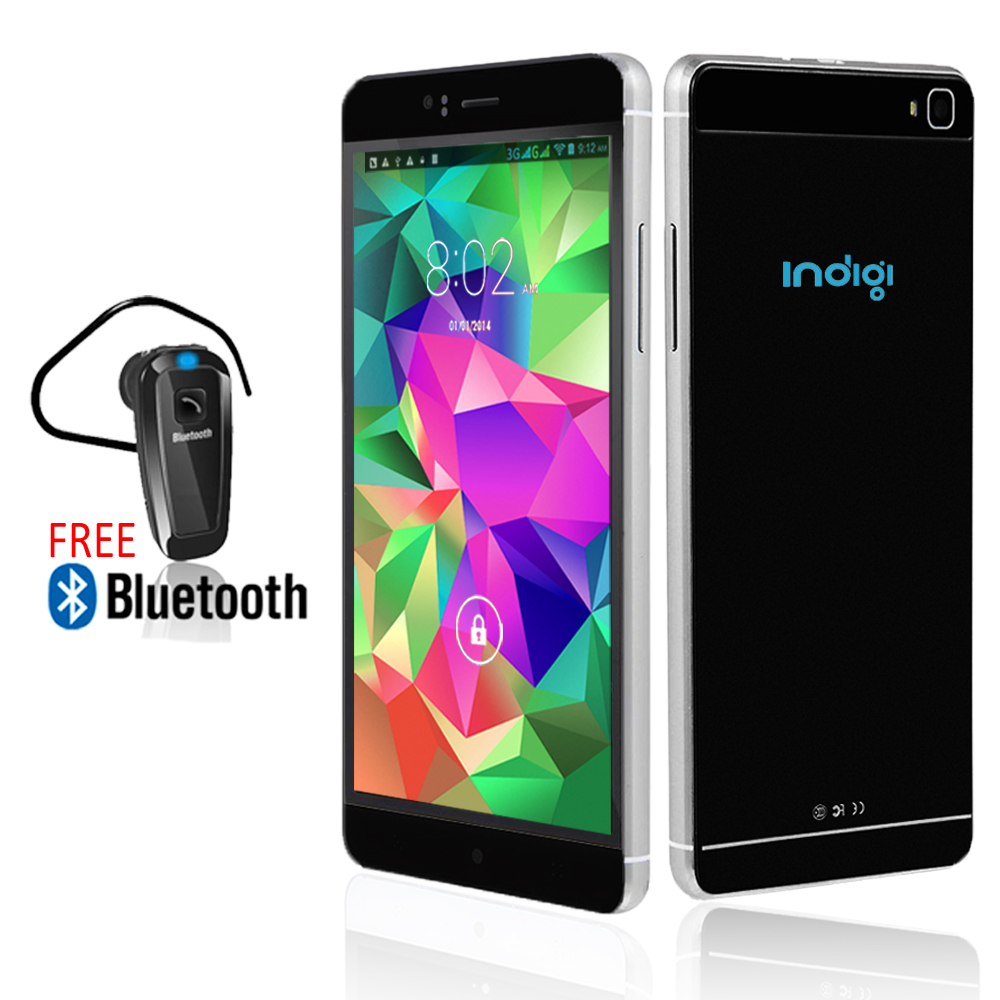 Indigi® 6.0inch Factory unlocked 3G Smartphone Android 5.1 SmartPhone + WiFi + Google Play + Bluetooth Included