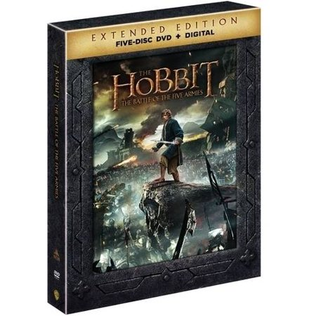 The Hobbit: Battle Of The Five Armies (Walmart Exclusive) (DVD + Digital Copy With