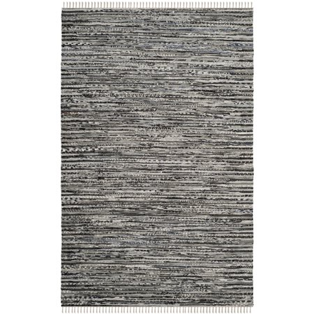 Safavieh Rag Dania Striped Area Rug or Runner Collection Multi Contemporary Stripe Rug
