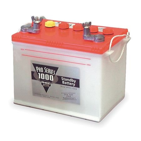 phcc pro series b-1000 deep cycle standby deep cycle (Crown Deep Cycle Battery)