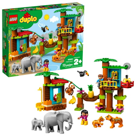 LEGO DUPLO Tropical Island 10906 Jungle Toys Building Kit (73 Pieces)