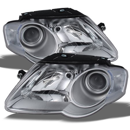 Fits 2006-2010 Volkswagen Passat  Projector Headlights Left + Right Head Lamps