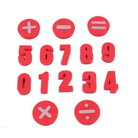 Unique Bargains Plastic Number Design Mathematical Symbol