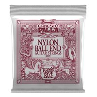 Ernie Ball 2409-U Ernesto Palla Ball-End Nylon Classical Guitar Strings, Black & Gold
