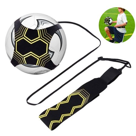 Soccer Trainer, EEEKit Adjustable Multi-Skill Football Kick Trainer Soccer Training Practice Exercises Equipment Waist Belt Fits Football Size #3, #4, #5 (Soccer Pre Wrap)