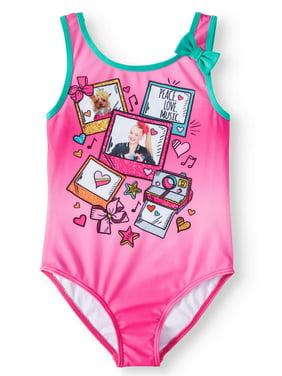 JoJo Graphic One-Piece Swimsuit (Little Girls & Big Girls)