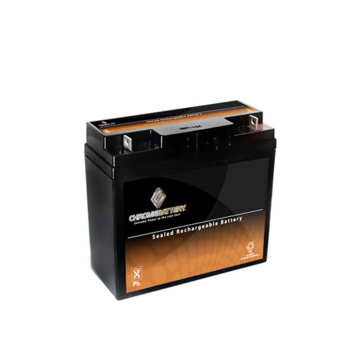 Chrome Battery S00003-00000 12V 18AH Sealed Lead Acid Battery - T3 Terminals - for ZB-12-18