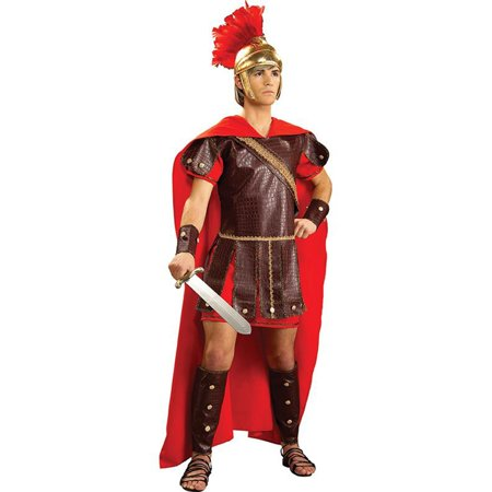Men's Roman Warrior Costume](Roman Soldier Costumes For Kids)