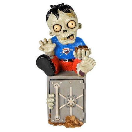 Oklahoma City Thunder Zombie Figurine Bank