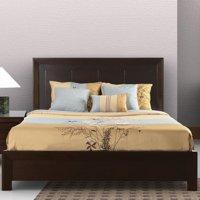 Modus Element Queen King Size Platform Bed in Chocolate Brown