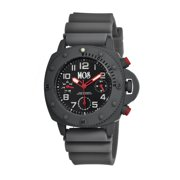 New York Men'S Watch W/ Day/Date - Grey/Black
