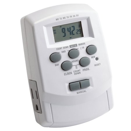 Transformer 900w Timer (Kichler 15556 Plug-In Digital Timer for Plus or Professional Series)