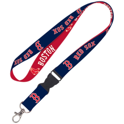 Boston Red Sox WinCraft Lanyard with Detachable Buckle- - No Size
