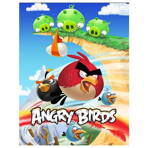 Angry Birds Pigs on Cliff Puzzle [24 pieces]
