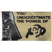 Colorado Buffaloes Star Wars 3' x 5' Pole Flag