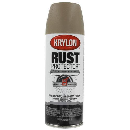Krylon Khaki Rust Protector Spray Paint Textured (Set of 6)