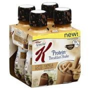 Kellogg's Vanilla Cappuccino Protein Breakfast Shake, 10 fl oz, 4-pack