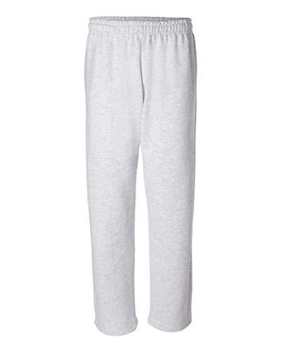 Gildan Mens Fleece Open Bottom Pocketed Pant Sweatpants
