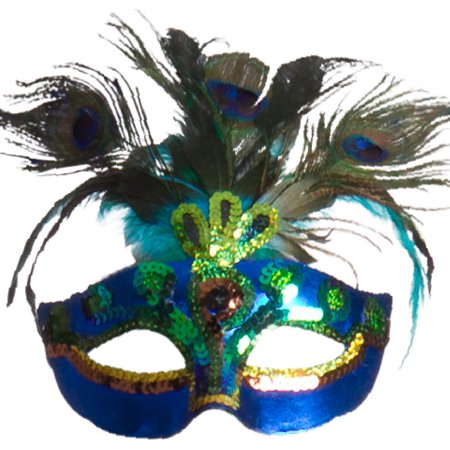 Peacock Feather Mask - Peacock Masks
