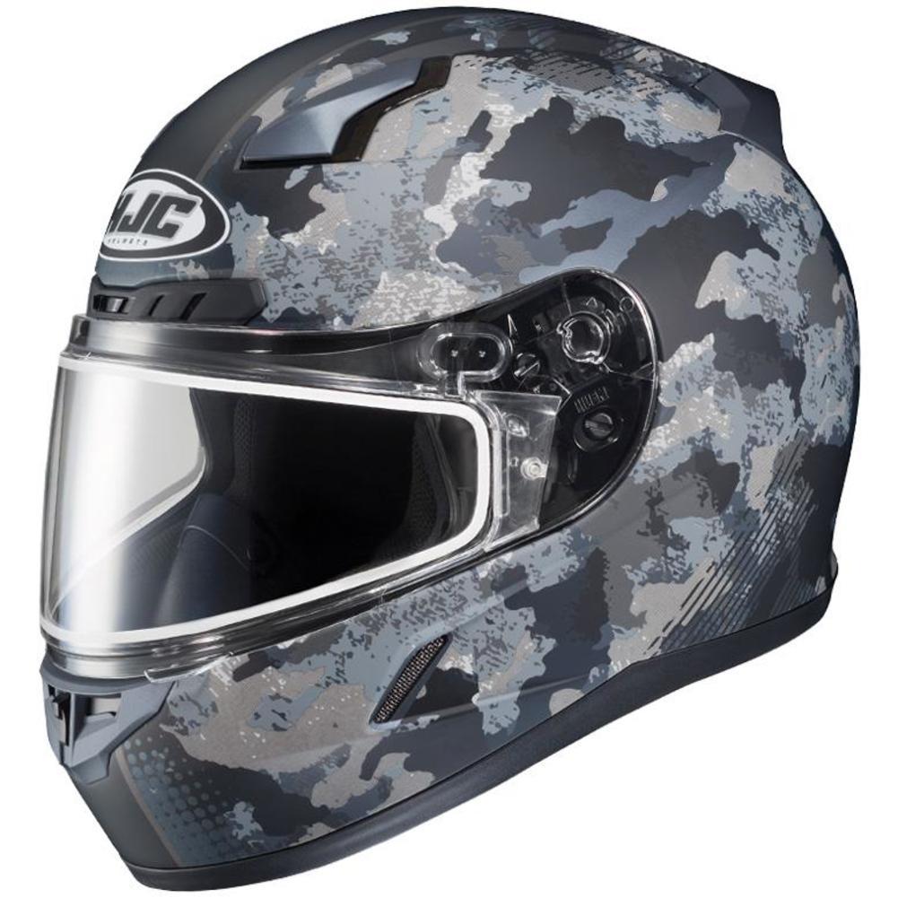 HJC CL-17 Void Snow Helmet with Dual Lens Shield