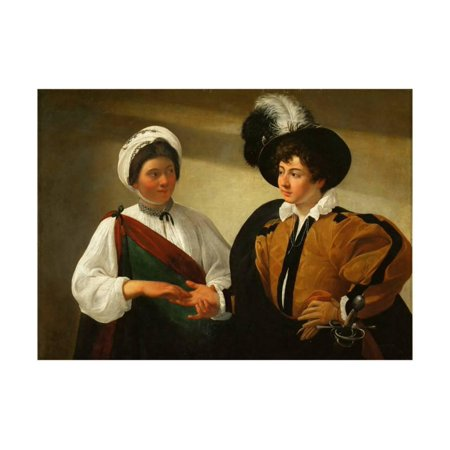 The Fortune Teller Print Wall Art By Caravaggio](Good Fortune Teller)