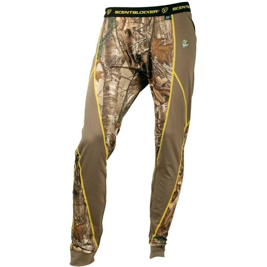 Men's 1.5 Baselayer Pant ScentBlocker, Mossy Oak Camo, Available in Multiple Sizes